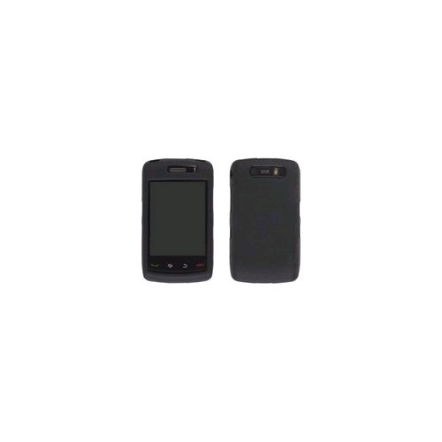Wireless Solutions Silicone Gel for BlackBerry 9550/Storm 2 - Black