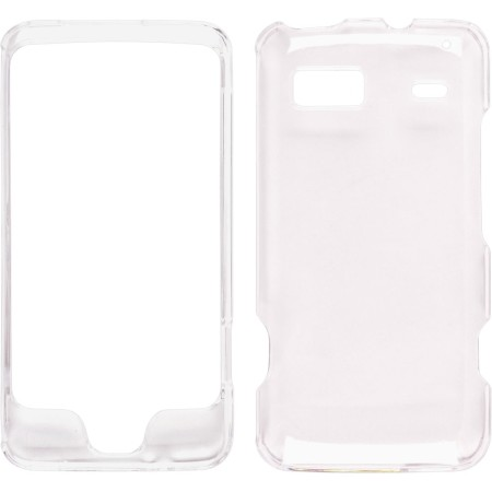 Clear Two Piece Snap-On Case for HTC G2 Vision