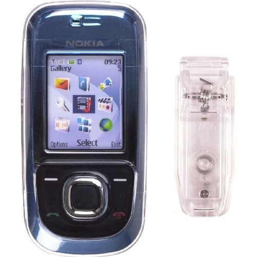 Wireless Solutions On Case for Nokia 2680 - Clear