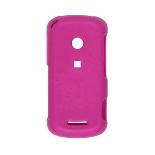 Wireless Solutions Rubberized Snap-On Case for Motorola W835 Crush - Pink