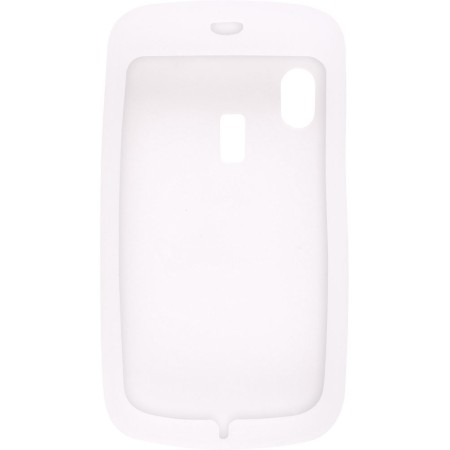 Silicone Gel Skin Case for Alcatel OT-800 One Touch Tribe - Clear