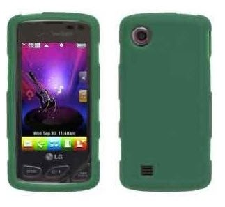 Wireless Solutions Silicone Gel Case for LG Chocolate Touch VX8575 - Turf Green