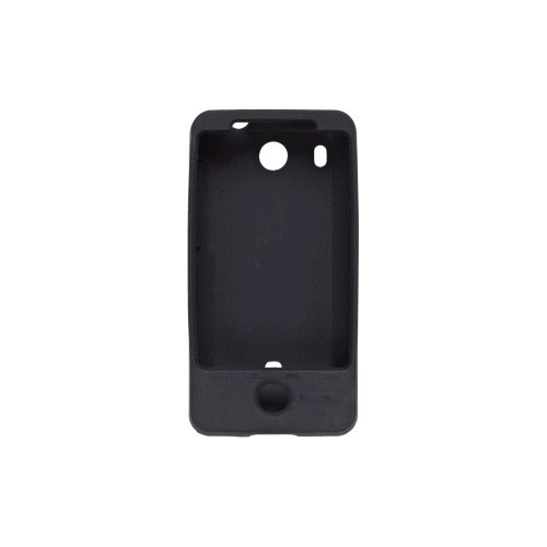 Wireless Solutions Silicone Gel Case for HTC Hero - Black