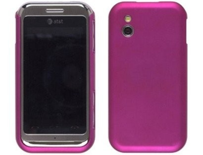 Wireless Solution Color Click Case for LG Arena GT950 - Fuchsia