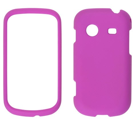 Wireless Solutions Soft Touch Snap-On Case for Samsung Character SCH-R640 (Pink)