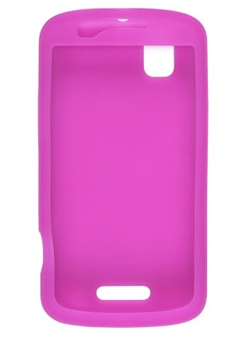 Wireless Solutions Silicone Gel Case for Motorola Milestone Plus XT609 - Pink