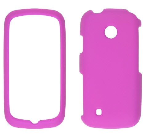 Wireless Solutions Soft Touch Snap-On Case for LG Exchange AN270 (Pink)