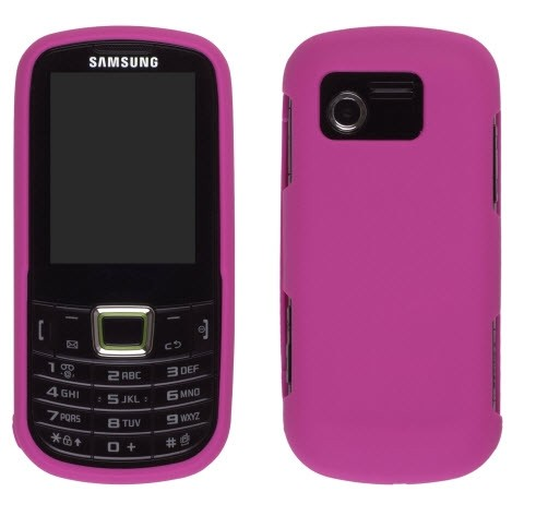 Wireless Solutions Soft Touch Snap-On Case for Samsung SGH-A667 - Hot Pink