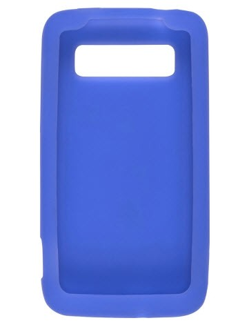 Wireless Solutions Silicone Gel Case for HTC Trophy - Blue