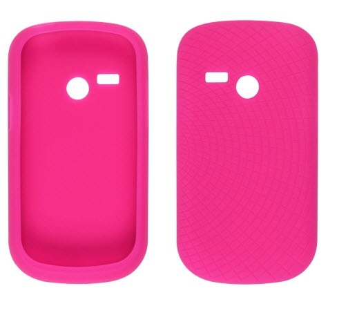 Ventev Radiant Silicone Gel Case for LG AN200, UN200 - Watermelon