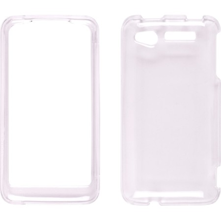 Clear Two Piece Snap-On Case for HTC Merge