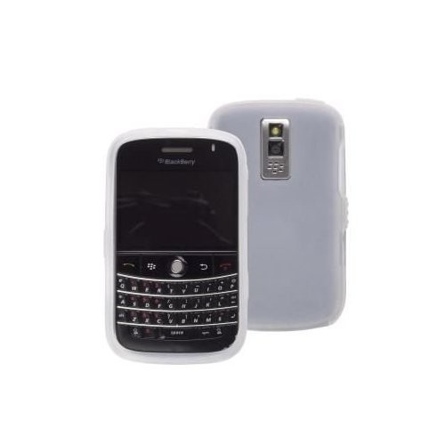 Wireless Solutions Silicone Gel Case for BlackBerry Bold 9000 - Clear