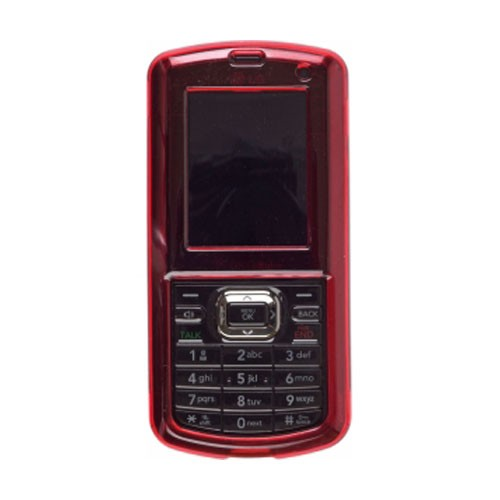 Snap-On Case for LG Rumor2, AX265, Cosmos, Banter, UX-265, Script - Red