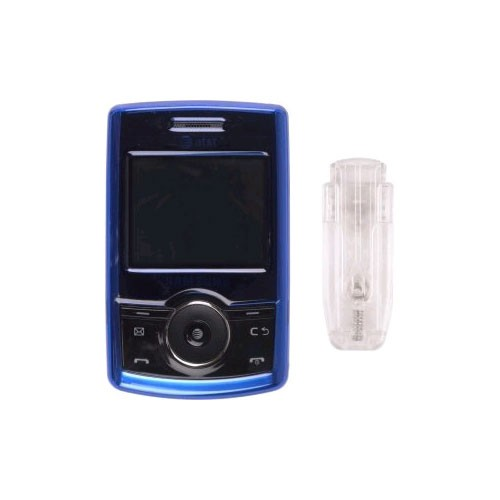 Snap On Case for Samsung SGH-A767 Propel - Blue