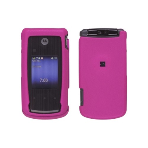 Soft Touch Snap-On Case for Motorola Nextel i890 - Pink