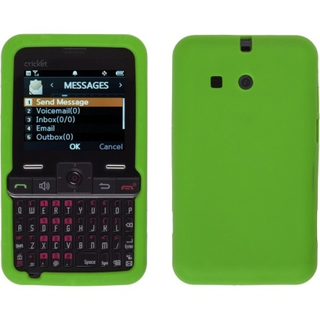 Green Silicone Gel Skin Case for Cal-Comp A300 MSGM8