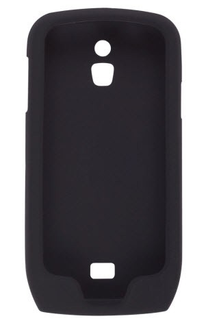 Wireless Solutions Smooth Silicone Gel Case for Samsung Exhibit 4G SGH-T759 (Black)