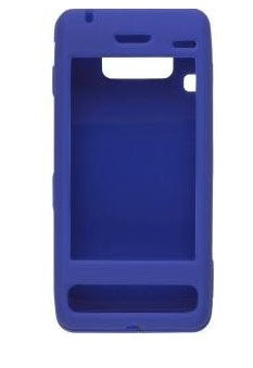 Wireless Solutions Rubberized Snap-On Case for LG VS750 Fathom - Cobalt Blue