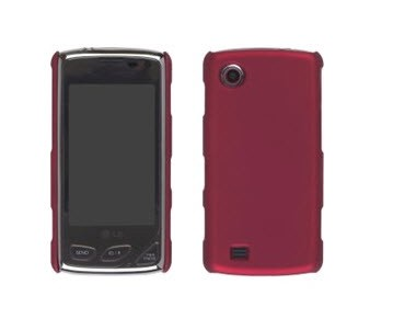 LG Chocolate Touch VX8575 Click Case - Brick Red