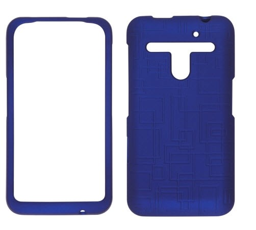 Wireless Solutions Maze Soft Touch Snap-On Case for LG Revolution VS910 - Cobalt Blue