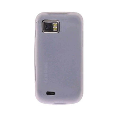 Wireless Solution Silicone Gel Case for Samsung Omnia II I920 - Clear