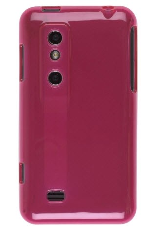Wireless Solutions Dura-Gel Case for LG Thrill 4G P925 - Pink