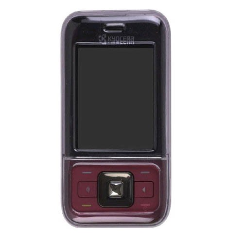 Wireless Solutions Soft Touch Snap-On Case for Kyocera Laylo M1400 - Smoke