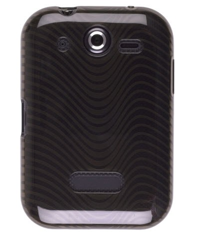 Wireless Solutions Waves Dura-Gel Case for Pantech Pocket P9060 - Smoke