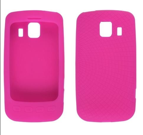 Wireless Solutions Radiant Silicone Gel Case for LG LS670 Optimus S -  Watermelon Pink