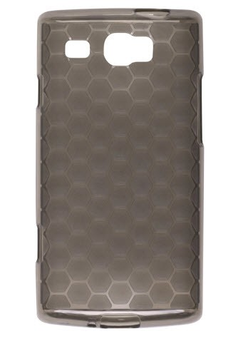 Wireless Solutions Honeycomb DuraGel Case for Samsung Focus Flash SGH-I677-Smoke