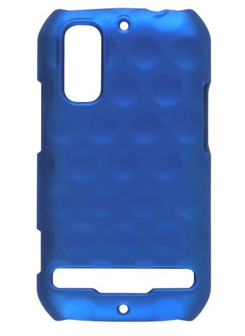 Wireless Solutions Dimples Color Click Case for Motorola Photon 4G MB855 - Electric Blue