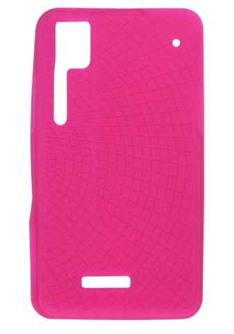 Wireless Solutions Silicone Gel Case for Motorola XT720 (Watermelon)