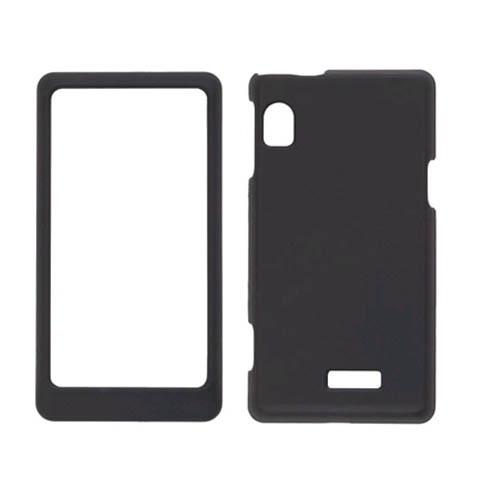 Wireless Solutions Soft Snap On Case for Motorola A954, A955 Droid 2 - Black