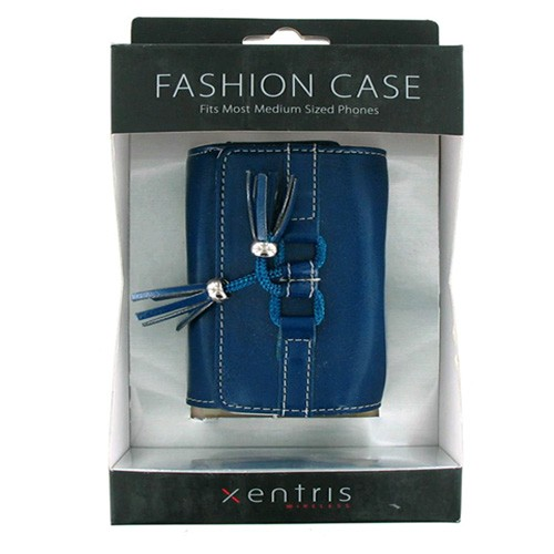 Xentris Universal Fashion Case for Medium Sized Phones (34-1880-01-WM) - Blue