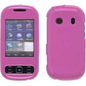Wireless Solutions Snap-On Case for Samsung SPH-M350 - Pink