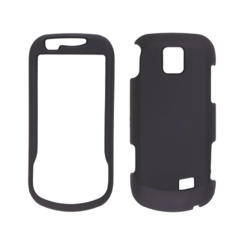 Wireless Solution Soft Touch Snap-On Case for Samsung Intercept SPH-M910 - Black