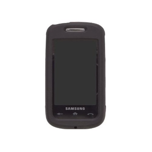 Wireless Solutions Silicon Gel Case for Samsung SPH-M810 Instinct S30 (Black)