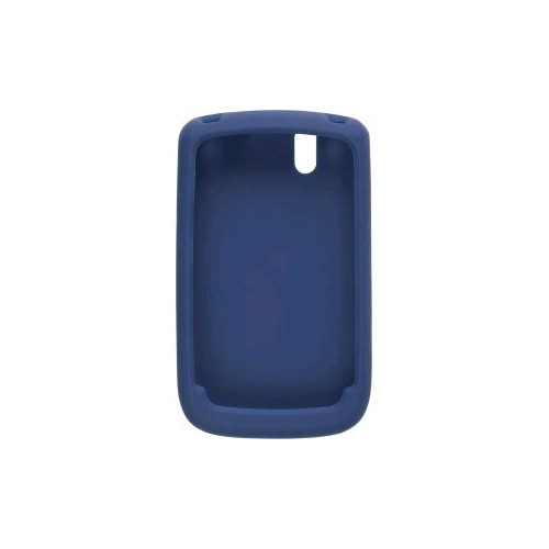 Silicone Gel Case for BlackBerry Bold 9650, Tour 9630 - Blue