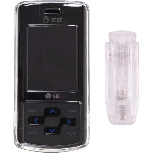 Wireless Solutions Snap On Case for LG CF360 - Clear