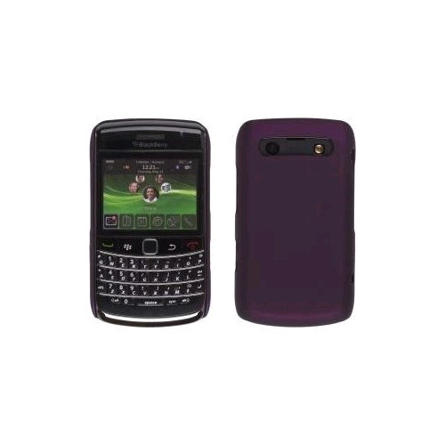 Wireless Solutions Color Click Case for BlackBerry 9700 - Eggplant
