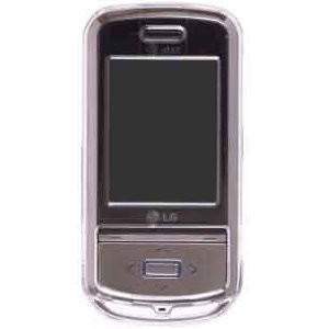 Wireless Solution Snap-On Case for LG Shine II GD710 - Clear