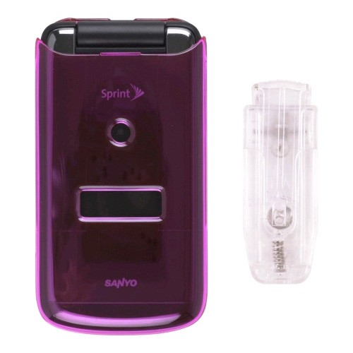 Sanyo SCP-3810 Snap-On Case - Pink