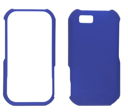 Wireless Solutions Soft Touch Snap-On Case for Motorola Titanium (Cobalt Blue)