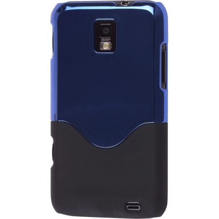 Ventev TwoTone Snap-On Case for Samsung SGH-I937 Focus S - Blue Metallic Finish