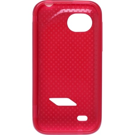 Dots Dura-Gel TPU Case (Red) for HTC Rezound