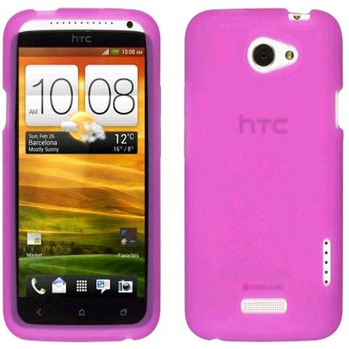 Ventev Silicone Gel for HTC One X (Plum Pink) - 349730