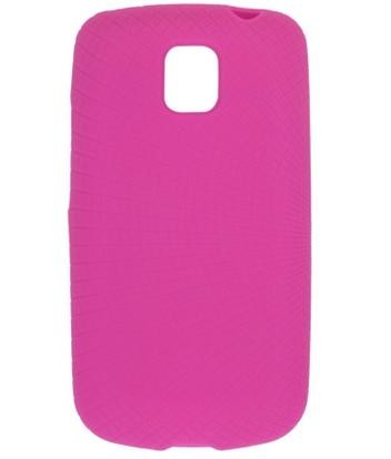 Wireless Solutions Silicone Skin Gel Case for LG Optimus T P509 (Watermelon)