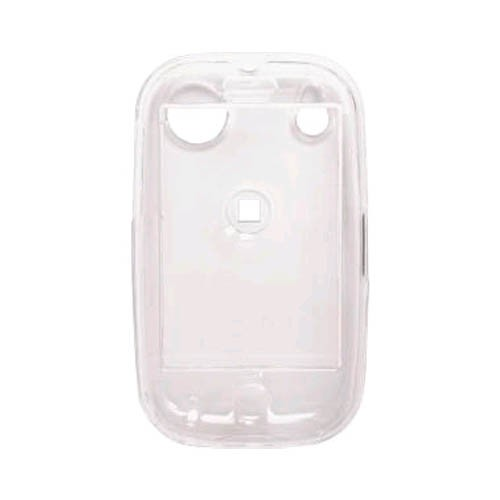 Two piece Snap-On Case (Front/Back) without belt clip for Palm Pre, Pre Plus, Clear