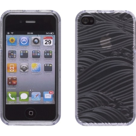 Wireless Solutions Rolling Hills Element Case for Apple iPhone 4/4S (Clear)