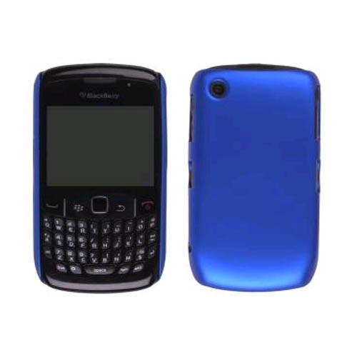 Color Click Case for BlackBerry Curve2 8520, 8530, Curve 3G 9330 - Electric Blue